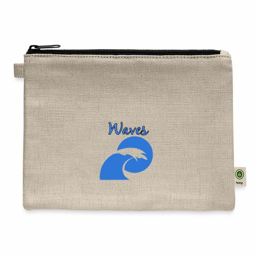 Waves - Carry All Pouch
