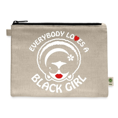 Everybody Loves A Black Girl - Version 1 Reverse - Carry All Pouch