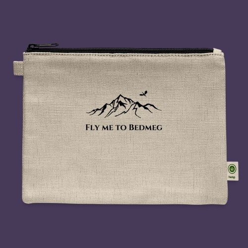 Fly Me To Bedmeg (black) - Carry All Pouch