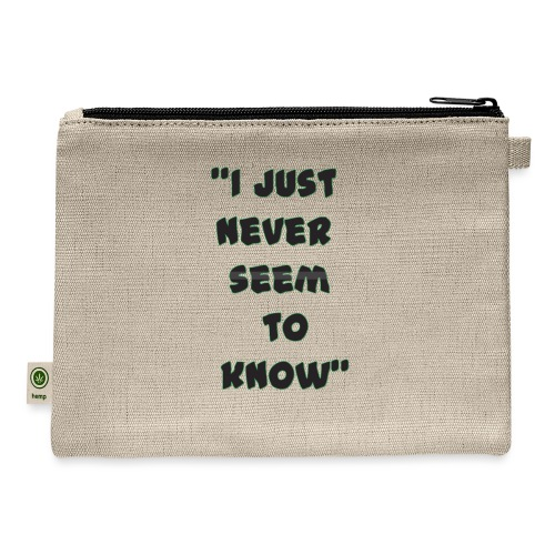 know png - Carry All Pouch