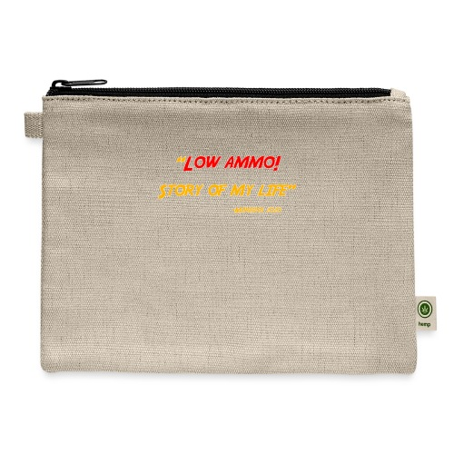 Logoed back with low ammo front - Carry All Pouch