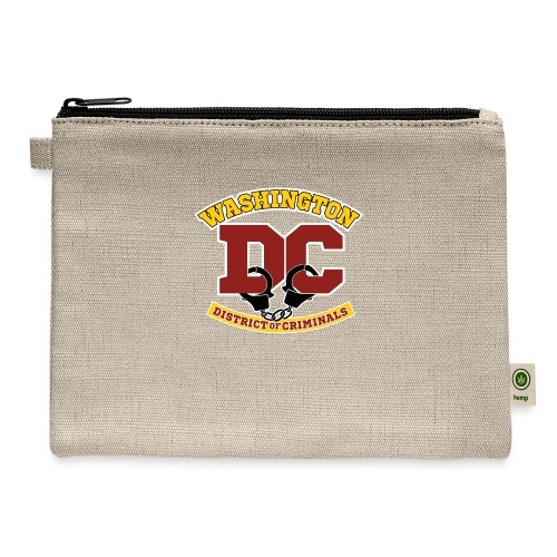Washington DC - the District of Criminals - Carry All Pouch