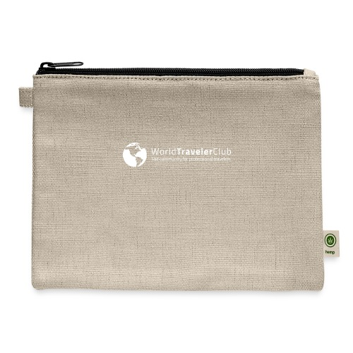 wtc logo - Carry All Pouch