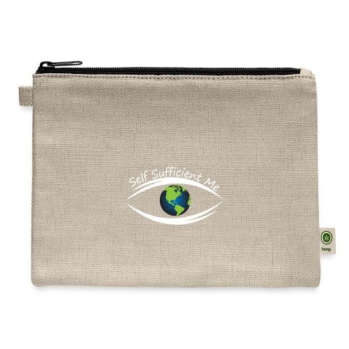 Self Sufficient Me Logo Large - Carry All Pouch