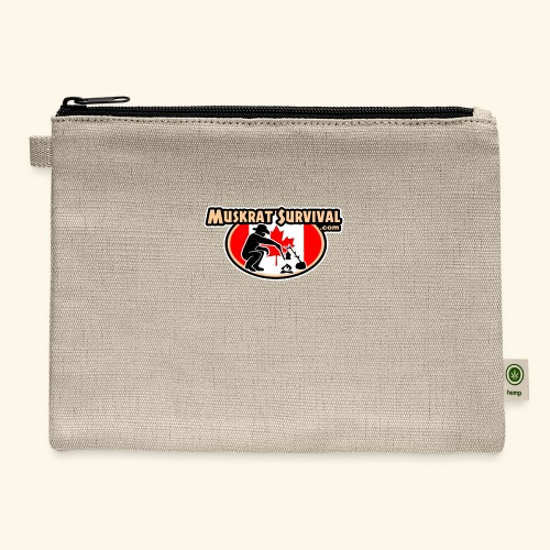 Muskrat Badge 2020 - Carry All Pouch