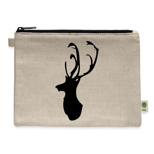 Mesanbrau Stag logo - Carry All Pouch
