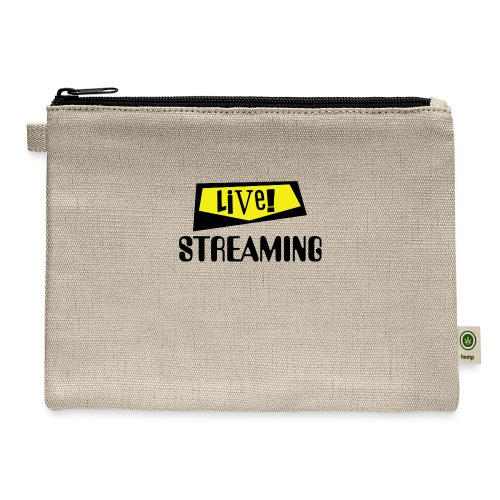 Live Streaming - Carry All Pouch