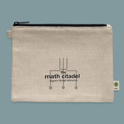 Abstract Math Citadel - Carry All Pouch