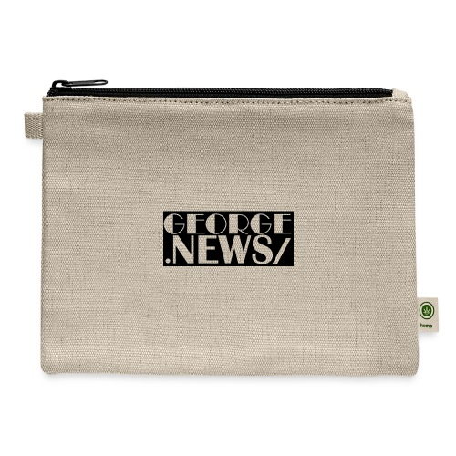 GEORGE NEWS V6 BLACK - Carry All Pouch