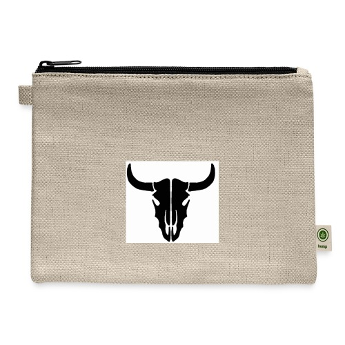 Longhorn skull - Carry All Pouch