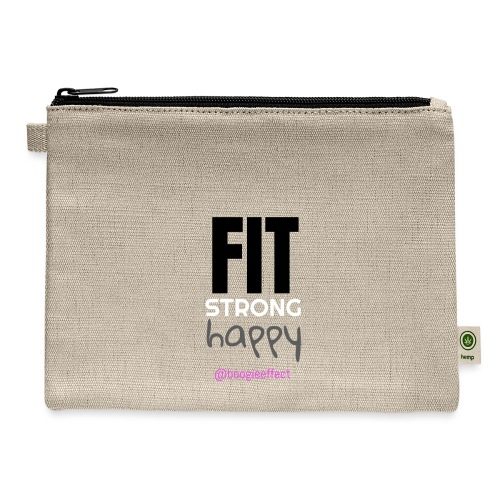 fit strong happy colour - Carry All Pouch