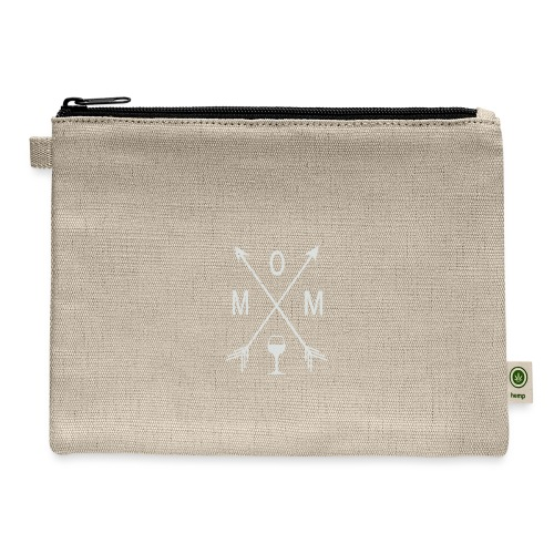Mom Wine Time - Carry All Pouch