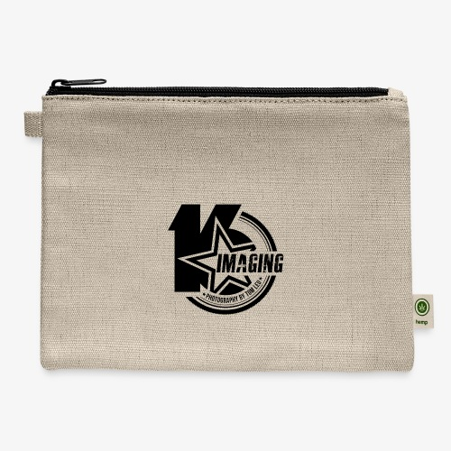 16IMAGING Badge Black - Carry All Pouch