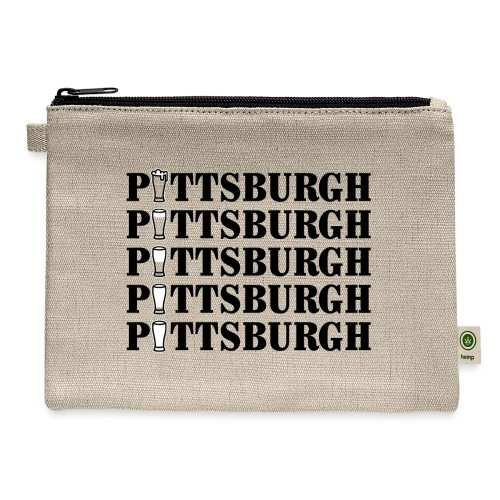 Beer in Pittsburgh - Carry All Pouch