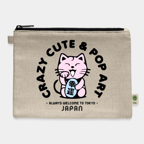tokyo japan cat pop art - Carry All Pouch