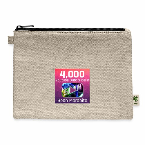 4000 Subs edited - Carry All Pouch