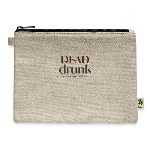 bigger dead drunk logo! - Carry All Pouch