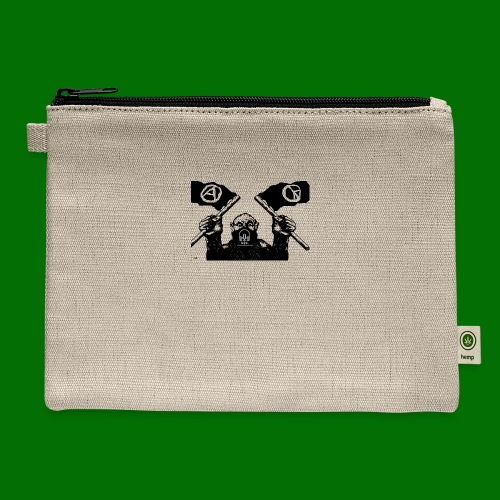 anarchy and peace - Carry All Pouch