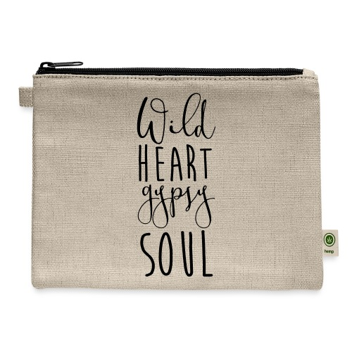 Cosmos 'Wild Heart Gypsy Sould' - Carry All Pouch