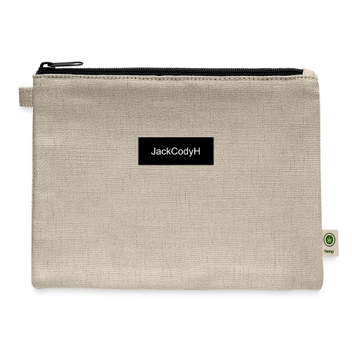 JackCodyH black design - Carry All Pouch