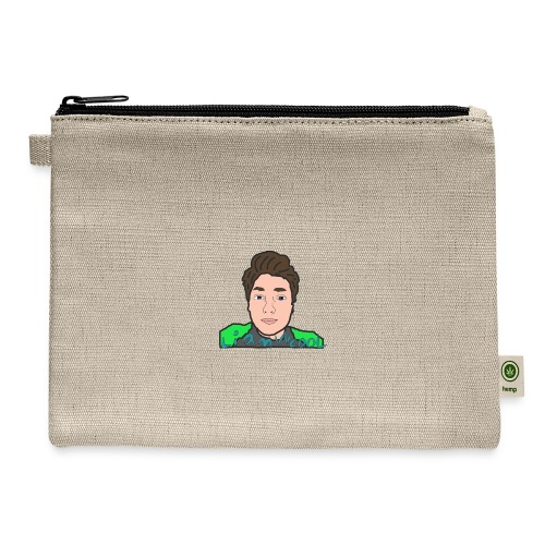 LiamWcool head tee - Carry All Pouch