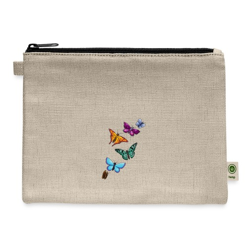 butterfly tattoo designs - Carry All Pouch