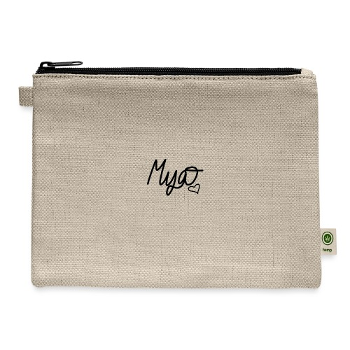 Mya, Signature Hand Drawn - Carry All Pouch