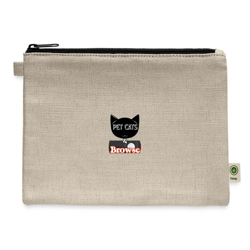 Pet Cats & Browse - Carry All Pouch
