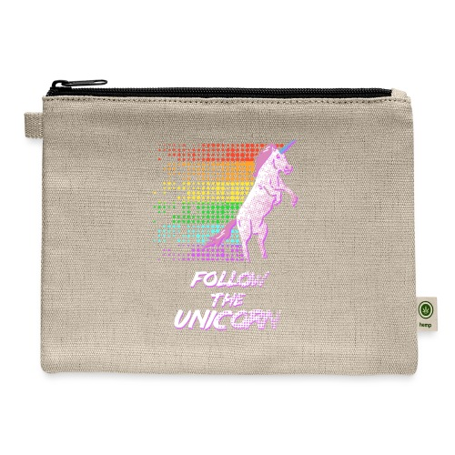 Follow The Unicorn - Carry All Pouch