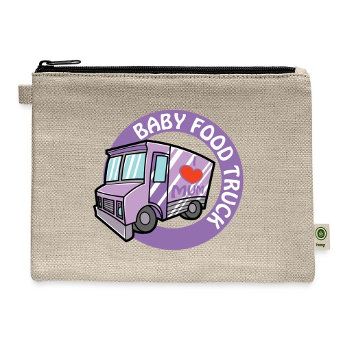 Purple baby food truck - Carry All Pouch