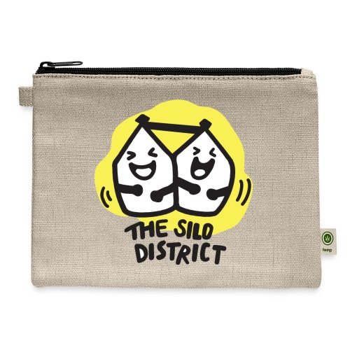 The Silo District Comedy Club Logo - Carry All Pouch