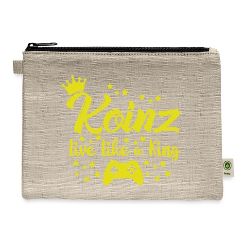 Live Like A King - Carry All Pouch