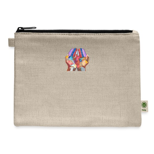 Heart in hand - Carry All Pouch