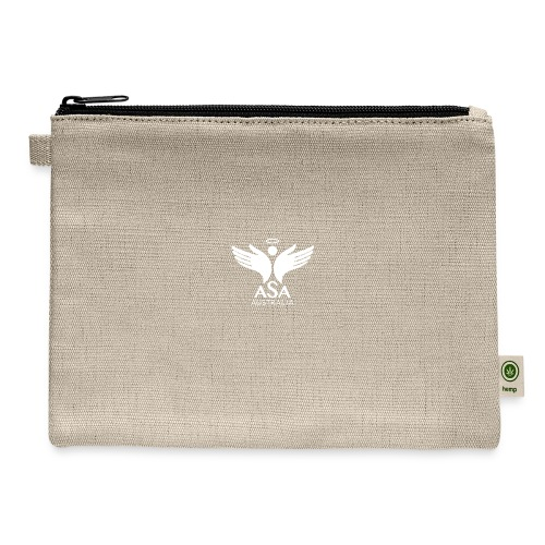 3459 Angelman Logo AUSTRALIA FA WHITE LR - Carry All Pouch