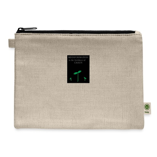 Misinformation - Carry All Pouch