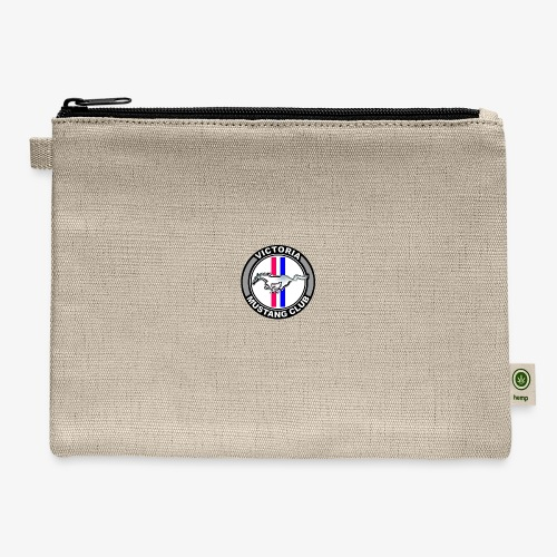 Victoria Mustang Club Logo - Carry All Pouch