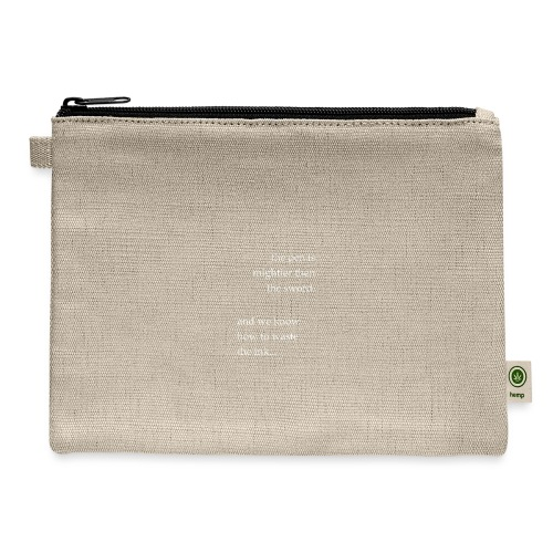 invert the pen is mightier(invert) - Carry All Pouch