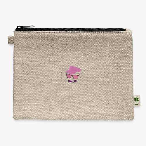 Glasses And Hat - Carry All Pouch
