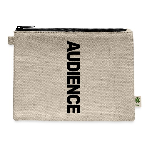 Audience iphone vertical - Carry All Pouch