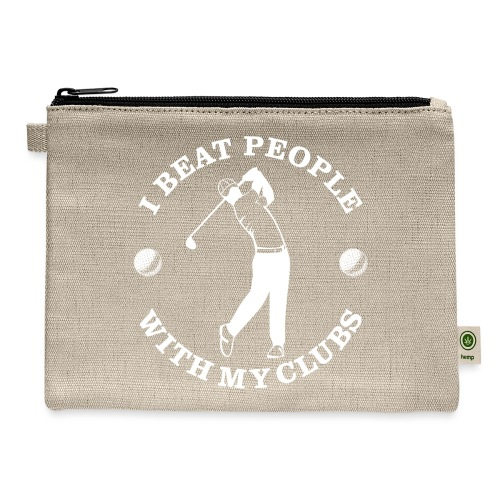 Beat People With Clubs - Carry All Pouch