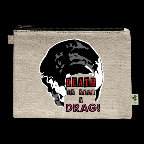 Death is a Drag Bride - Carry All Pouch