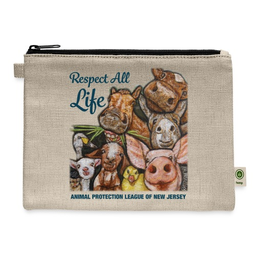 Respect All Life - Carry All Pouch