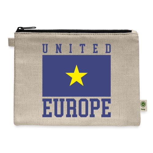 united europe union - Carry All Pouch