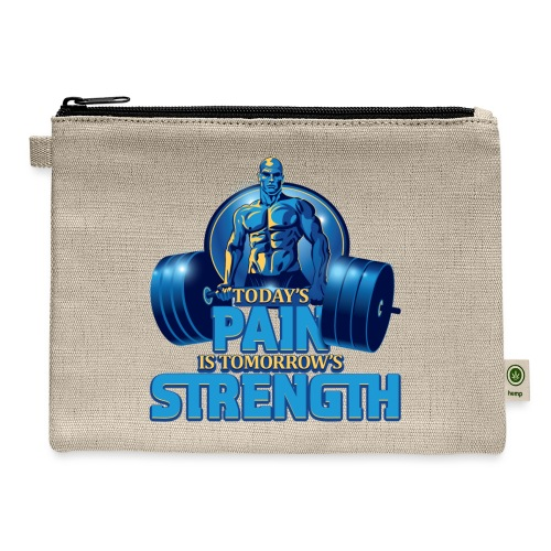 Heavy Lifting Man - Carry All Pouch