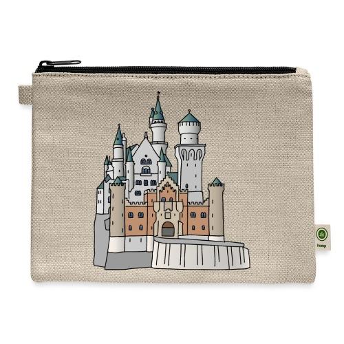 Neuschwanstein Castle, Bavaria - Carry All Pouch