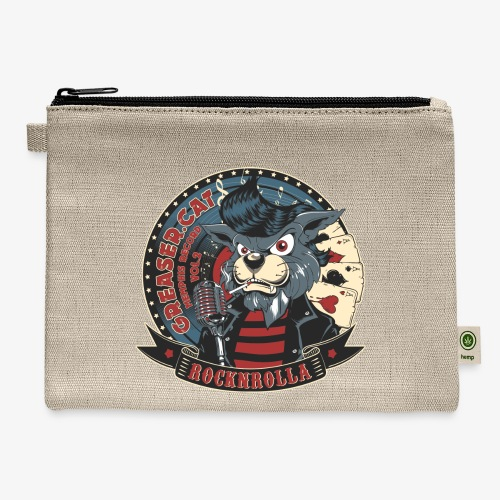 Greaser Cat - Carry All Pouch