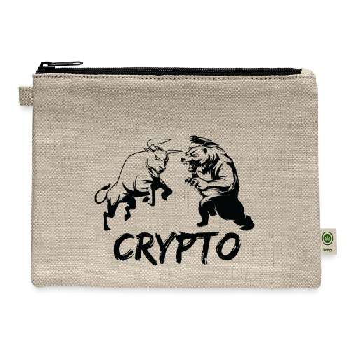 CryptoBattle Black - Carry All Pouch