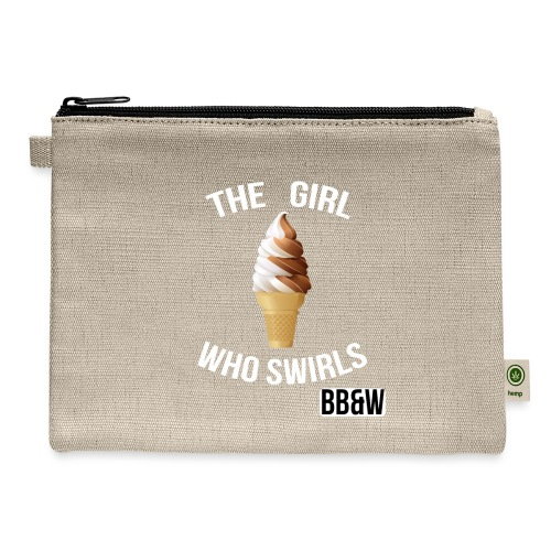 Girl Who Swirch totoe bag - Carry All Pouch