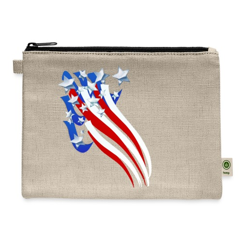 Sweeping Old Glory - Carry All Pouch