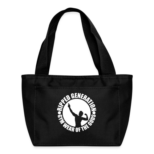 Ripped Generation Gym Wear of the Gods Badge Logo - Lunch Bag